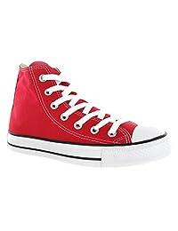 Converse Chuck Taylor Hi Top Red Shoes Mens 7.5