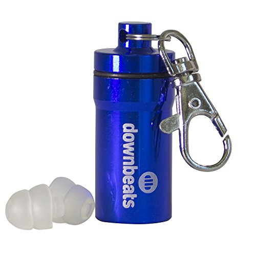 downbeats-reusable-high-fidelity-hearing-protection-ear-plugs-for-concerts-music-and-musicians-blue