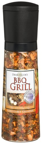 Dean Jacobs BBQ Grill, 7-Ounce Extra Large Grinders (Pack of 3)