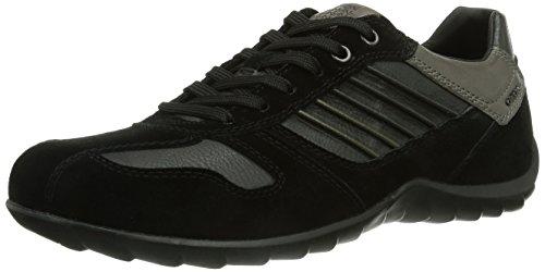 Geox U PAVEL, Sneaker Uomo, Nero (Schwarz (BLACKC9999)),