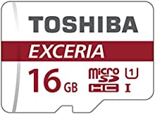 Comprar Toshiba EXCERIA M302-EA 16GB MicroSDHC UHS-I Class 10 memoria flash - Tarjeta de memoria (MicroSDHC, -25 - 85 °C, Rojo, Color blanco, -40 - 85 °C, UHS-I, Class 10)