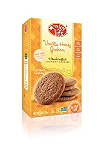 Enjoy Life Vanilla Honey Graham Crunchy Cookie, 6.3-Ounce (Pack of 6)