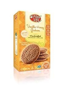 Enjoy Life Vanilla Honey Graham Crunchy Cookie, 6.3-Ounce (Pack of 6)