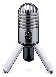 Samson Meteor Mic Microphone à condensateur USB cardioïde Chromé
