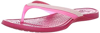Crocs Adrina, Women's Flip flops, Hot Pink/Raspberry, 4 UK