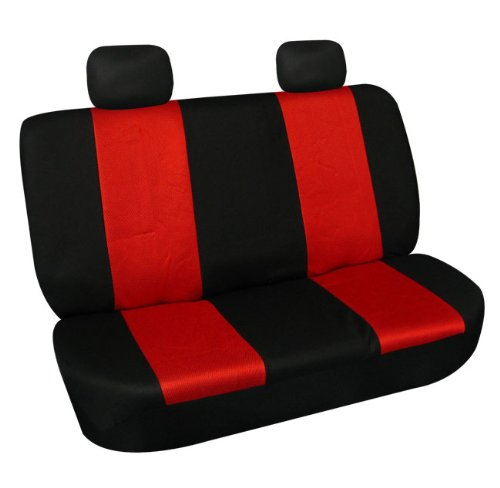 Red And Black Car Seat front-912926