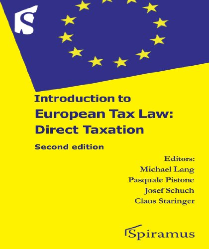European Tax Law: Direct Taxation
