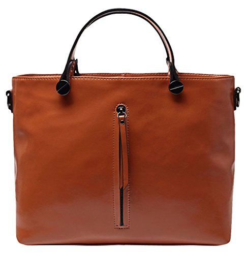 Etellla Women'S Classic Leather Tote Bags