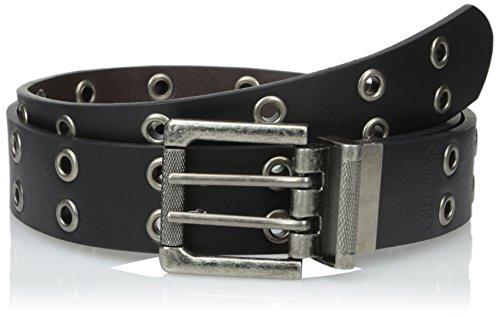 Wolverine-Mens-Leather-Grommet-Reversible-Belt-Black-to-Brown