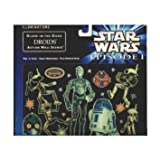Star Wars Episode 1 Illuminations Glow-in-the-dark Droids Action Wall Scene