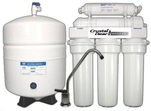 Premium Home Reverse Osmosis 50 GPD Undersink Water Filter System With KDF