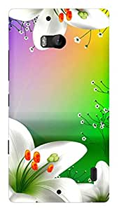 TrilMil Printed Designer Mobile Case Back Cover For Nokia Lumia 930