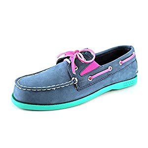 Sperry Top-Sider Kids Navy/Pink/Turq Sperry Top Sider AO Gore Toddler Toddler 7.5 B(M) US
