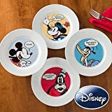 Personalized Disney Plates - Mickey Mouse, Minnie Mouse, Donald Duck, Goofy