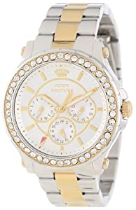 Juicy Couture Women's 1901066 Pedigree Two Tone Bracelet Watch