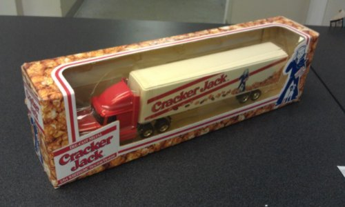 ertl-collectible-cracker-jack-164-white-gmc-tractor-trailer-by-ertl
