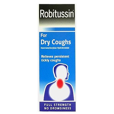 Robitussin Dry Coughs x 100ml [Personal Care]