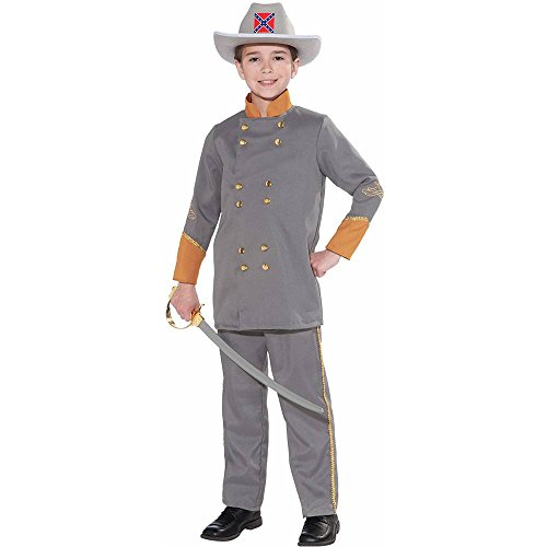 Civil War Confederate Officer Kids Costume