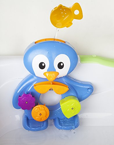 Zig Zag Kid Penguin Bath Toy for Toddlers