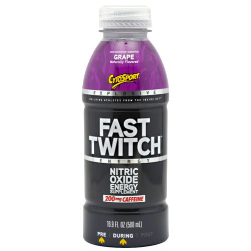 Cytosport - Fast Twitch Rtd - Grape, 12 Drinks