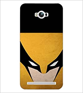 PrintDhaba Cartoon D-4219 Back Case Cover for ASUS ZENFONE MAX ZC550KL (Multi-Coloured)