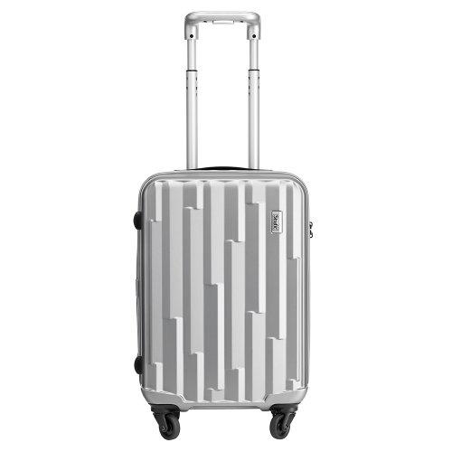 Stratic(ストラティック)[Cliff]スーツケースS ブリリアントシルバー(3-9546-55--003)