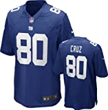 Victor Cruz Jersey Home Blue Game Replica #80