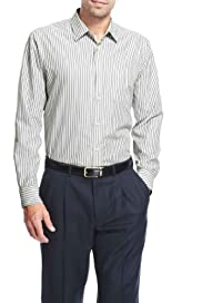 Soft Touch Classic Collar Fine Striped Shirt [T25-2227M-S]