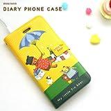 YP168-1 Flying bear  iphone4 / iphone4s用 ダイアリー式 カバー