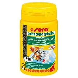 Goldy color spirulina fish food set of 2 for Spirulina fish food