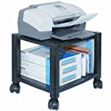 PS510 Under Desk 2-Shelf Moblie Printer/Fax Stand