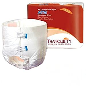 "Tranquility ATN Disposable Briefs 24-32"", Small, 100 Per Case from IncontinenceBriefs disp"