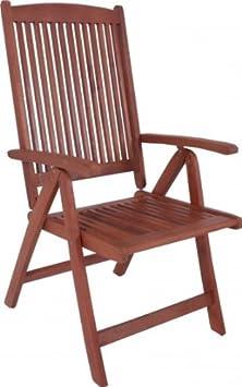 Gartenstuhl - Eleganter Hochlehner aus FSC-Holz