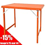 Table camping pliant
