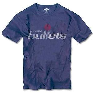 Amazon.com : Washington Bullets Blue '47 Brand Vintage Scrum Tee