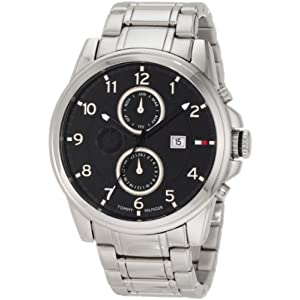 Tommy Hilfiger  Men's 1710296 Classic Stainless Steel Black  Sub dial  Watch