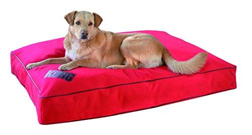 Kong-Rechteck-Kissen-fr-Hunde-34-cm-x-45-cm-Red