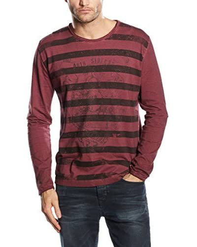 SIDECAR Camiseta Manga Larga Andres Granate