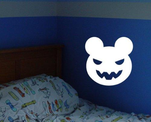 Halloween Evil Scary Teddy Bear AL097 vinyl decal