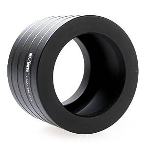 Kiwifotos Objektivadapter (Adapter, Adapterring) T2-Objektiv - Sony E-Mount Bajonett - z.B. für Sony NEX-7 NEX-6 NEX-5T NEX-5N NEX-5R NEX-5 NEX-3 NEX-3N NEX-F3 NEX-C3 Alpha a3000