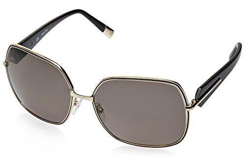 Escada Escada Oversized Sunglasses (Golden) (SES 753|0301 CC|61) (Yellow)