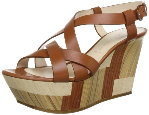 Casadei LADIES SANDALS 3099 Ankle Womens Brown Braun (CUOIO) Size: 4.5 (38.5 EU)