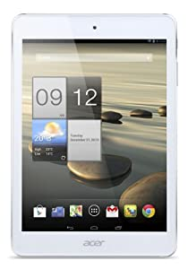 """Acer A1-830-25601G01nsw Tablette Tactile 7.9 """" Intel Android Argent, Blanc (Import - clavier non AZERTY)"""