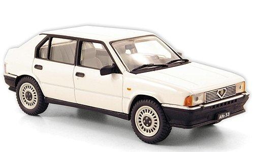 Alfa Romeo 33 1.3, bianco , 1983, modello di automobile, modello prefabbricato,…
