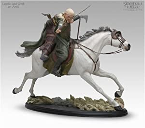 Legolas & Gimli on Arod Statue - Sideshow Collectibles - The Two Towers - Numbered - Limited Edition - Collectible