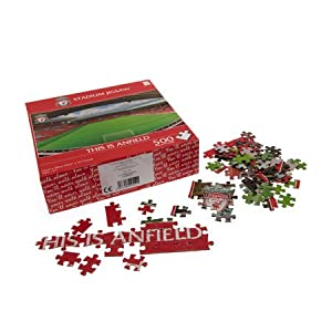 Liverpool 500 Piece Jigsaw Puzzle by Club Licensed
