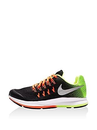 Nike Zapatillas Zoom Pegasus 33 (GS) (Negro)