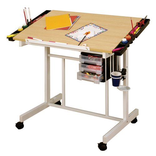 Studio Designs Deluxe Drawing Drafting Art and Craft Table
