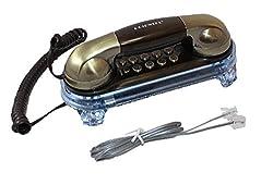 Orientel KX-T777 Caller ID Phone Landline Telephone (Nickel)