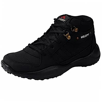 chevit s stylish 416 black tracking casual running